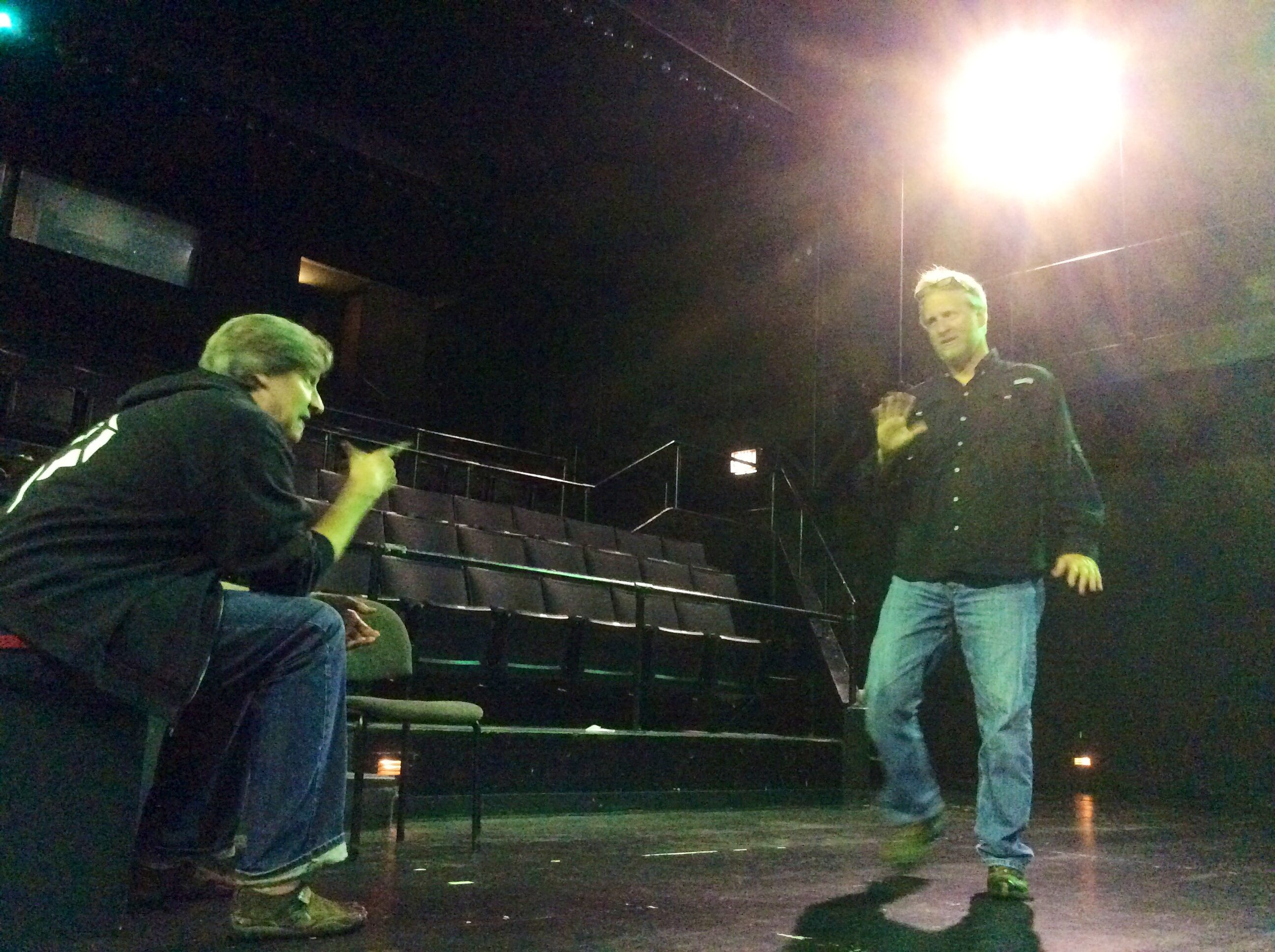 Highland Park actor translates play into sign language