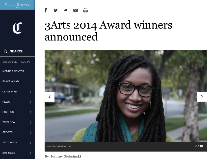 3Arts 2014 Award winners announced