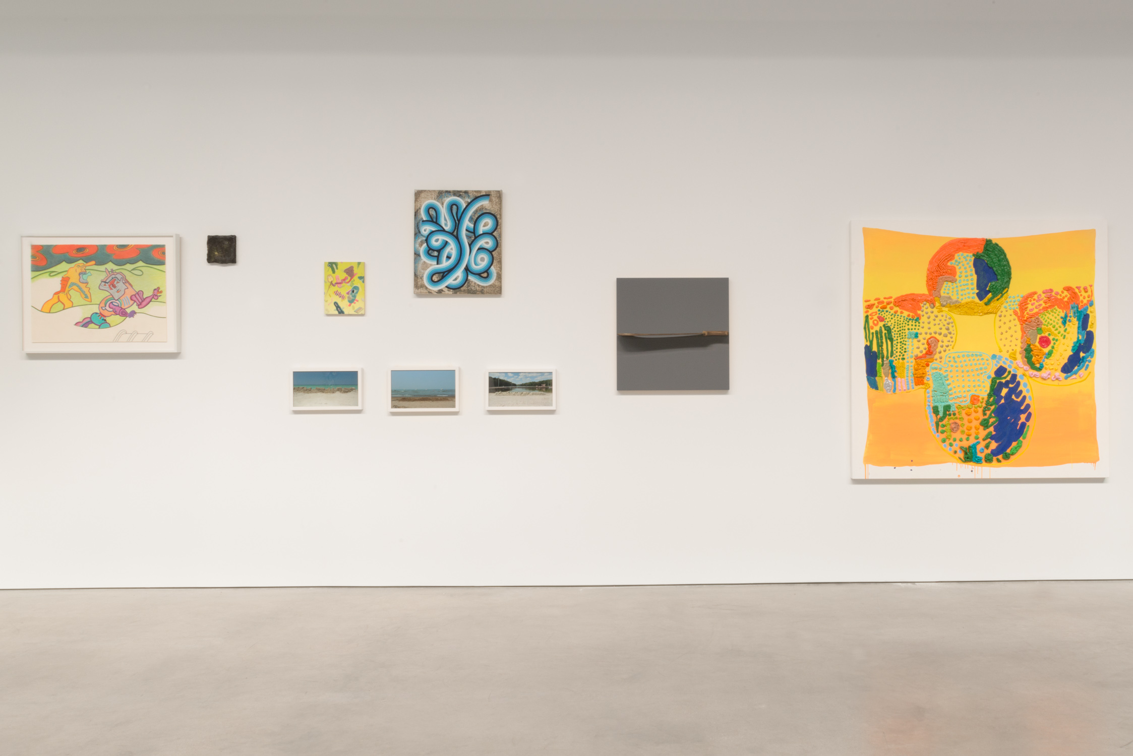 "Shane Campbell Gallery ""Chicago and Vicinity"" installation view"