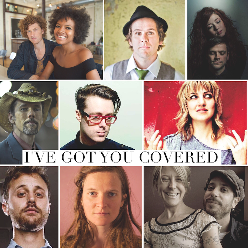 "Musicians participating in ""I've Got You Covered"""