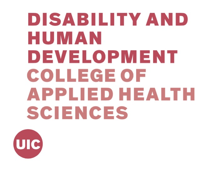 UIC Department of Disability and Human Development logo